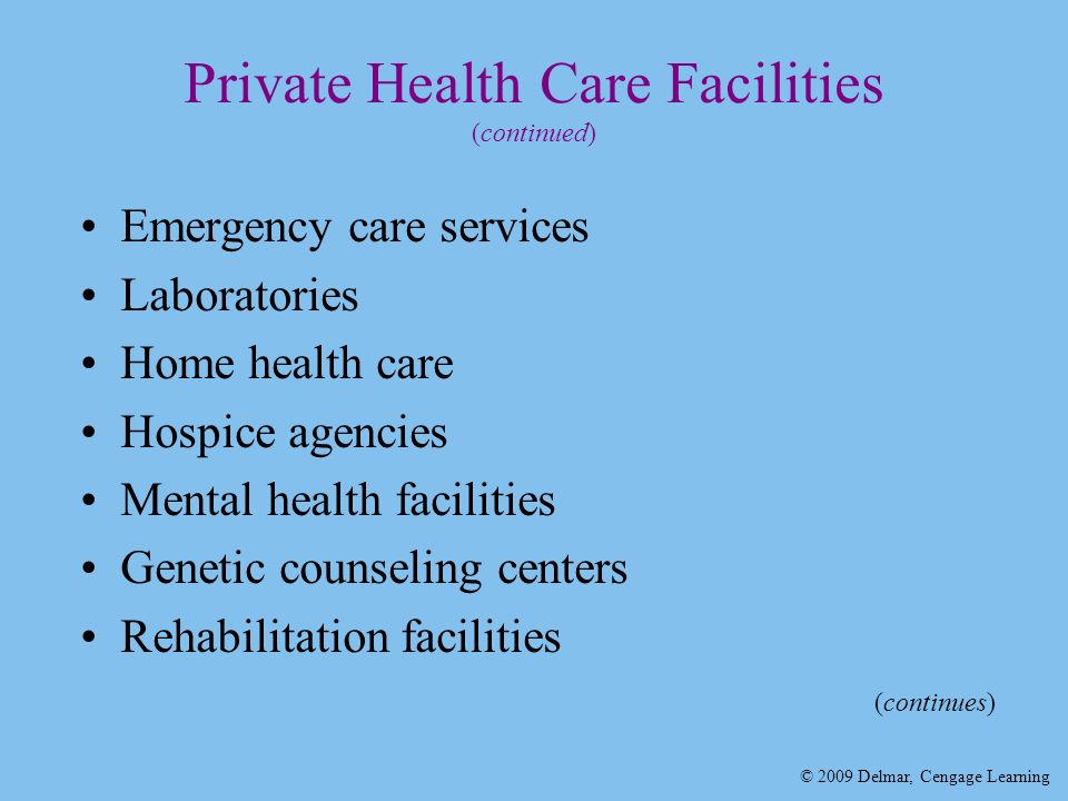 Chapter 2 Health Care Systems Ppt Download