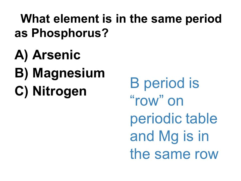 Semester 1 slides from units 1 5 tests also ppt video online download what element is in the same period as phosphorus urtaz Choice Image