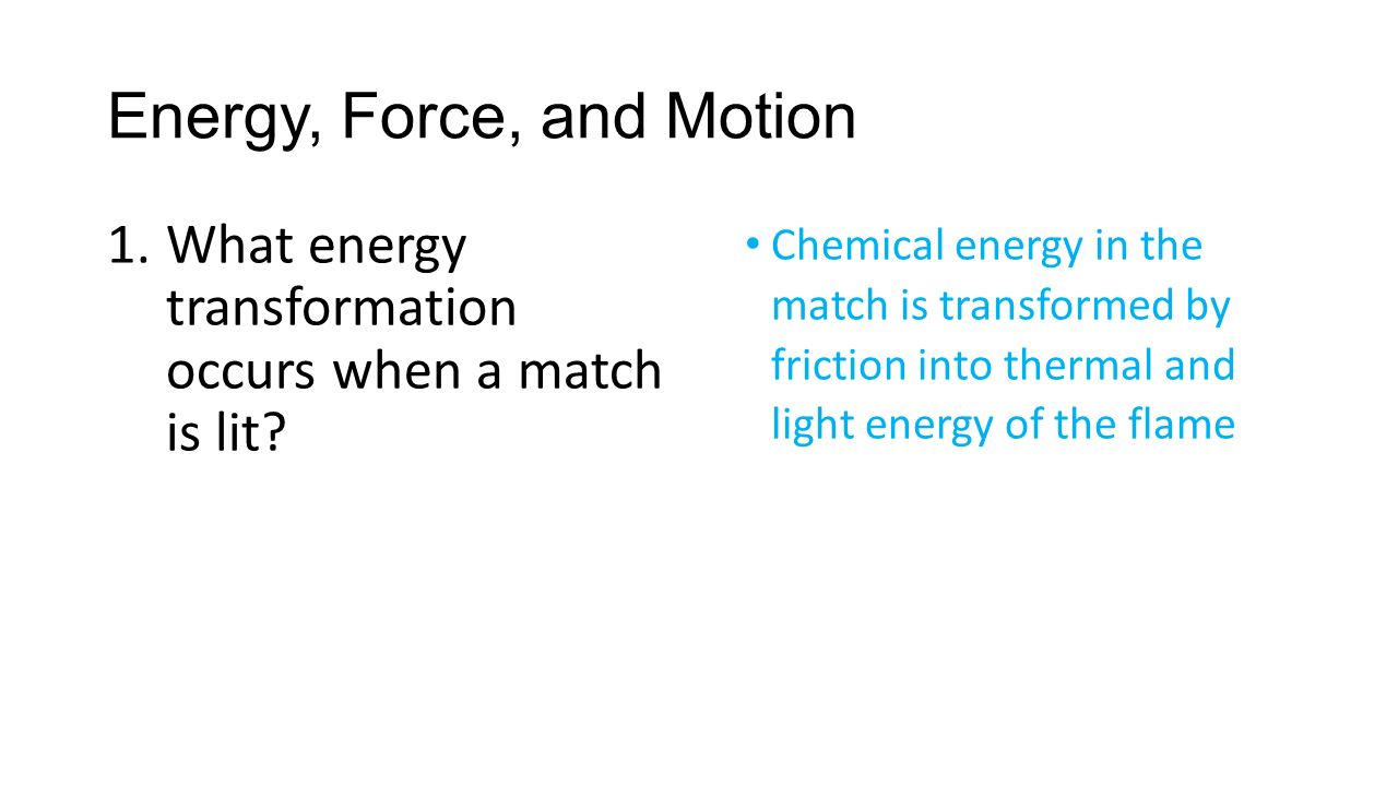 Physical Science Study Guide – Final Exam and EOC Assessment. 2 Energy ...