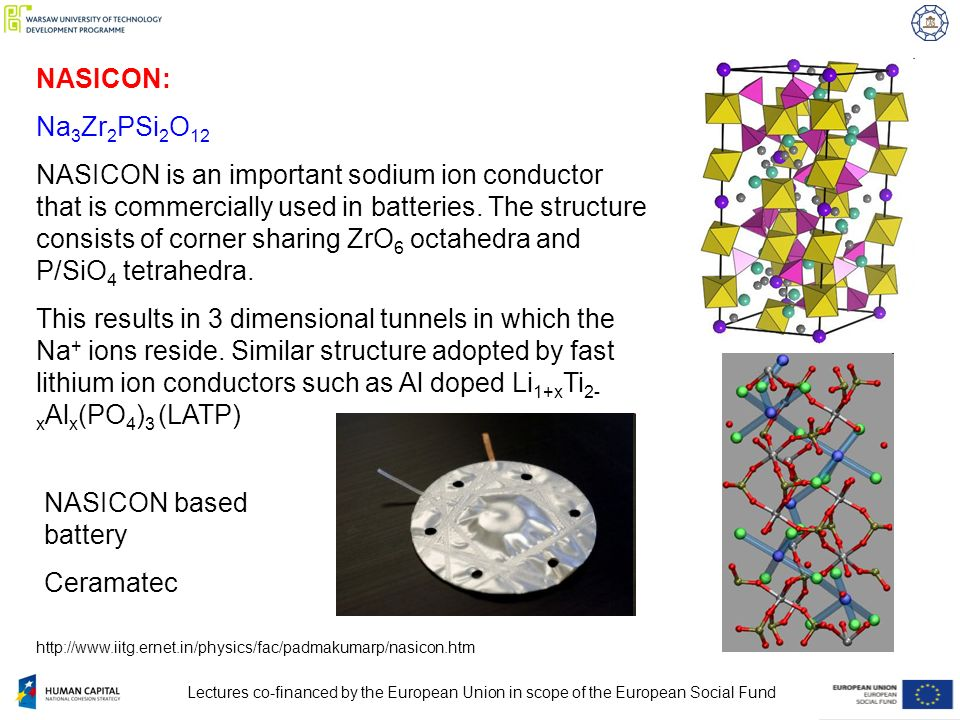 Ionic Conductors: Characterisation of Defect Structure