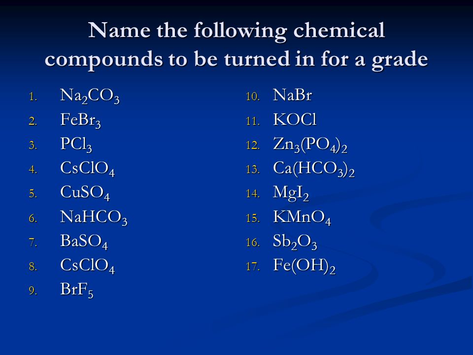 baso4 chemical name