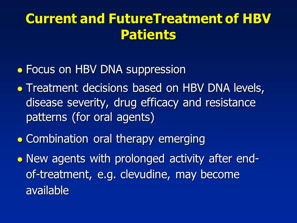 chronic hepatitis b treatment guidelines