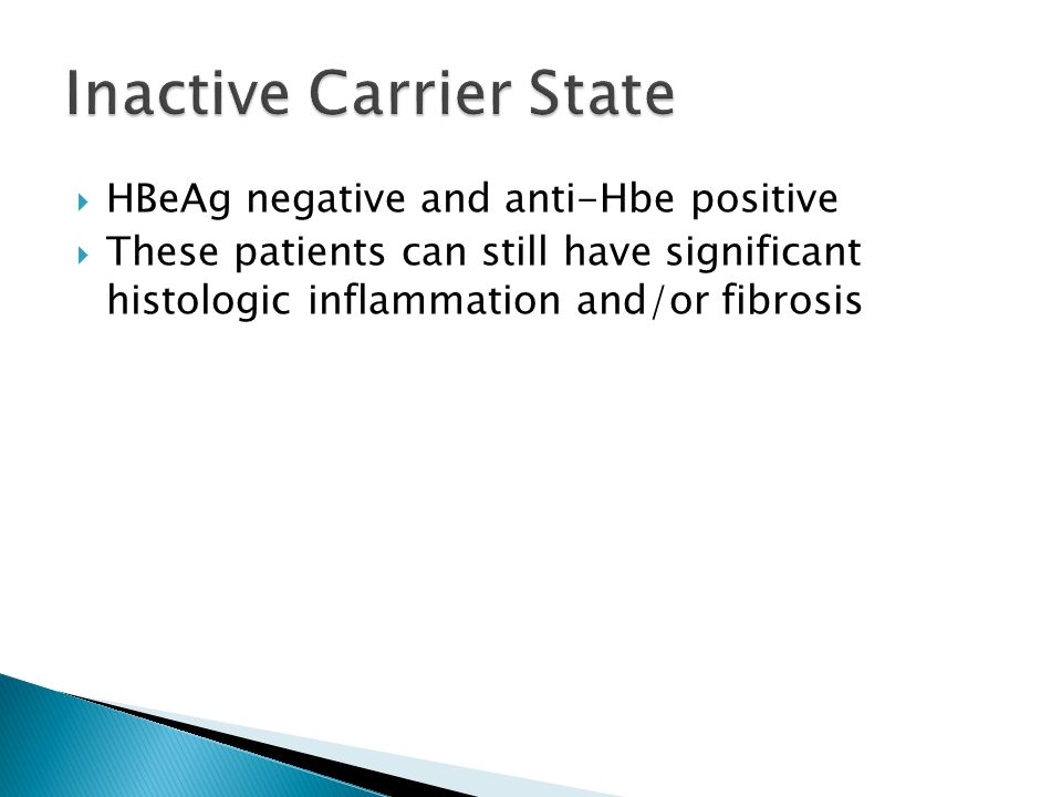 Inactive Carrier State