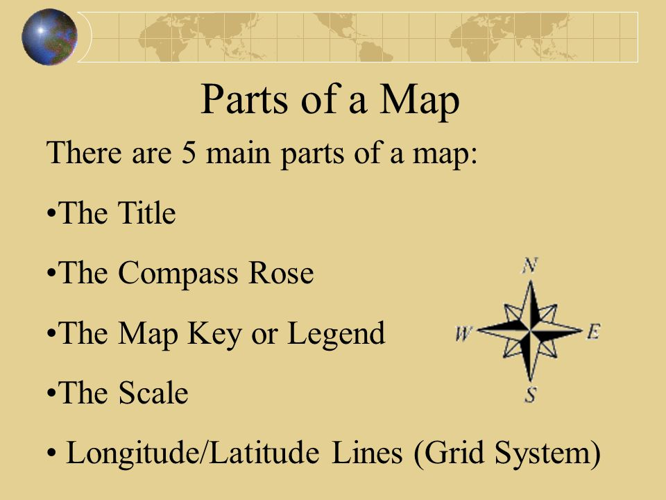5 main parts of a map Map Essentials Ppt Video Online Download 5 main parts of a map