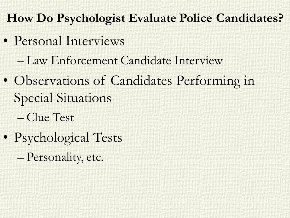 Forensic Psychology  - ppt download
