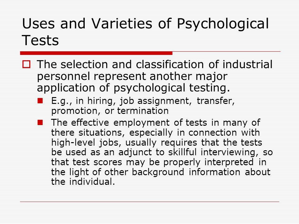 Psychological Testing - ppt download