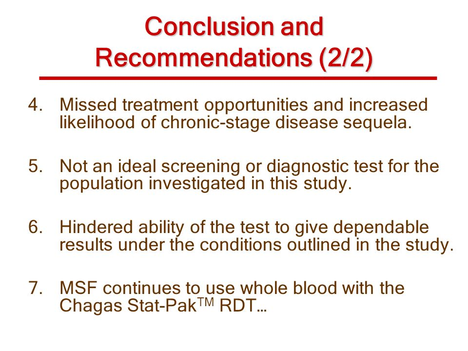 Conclusion and Recommendations (2/2)