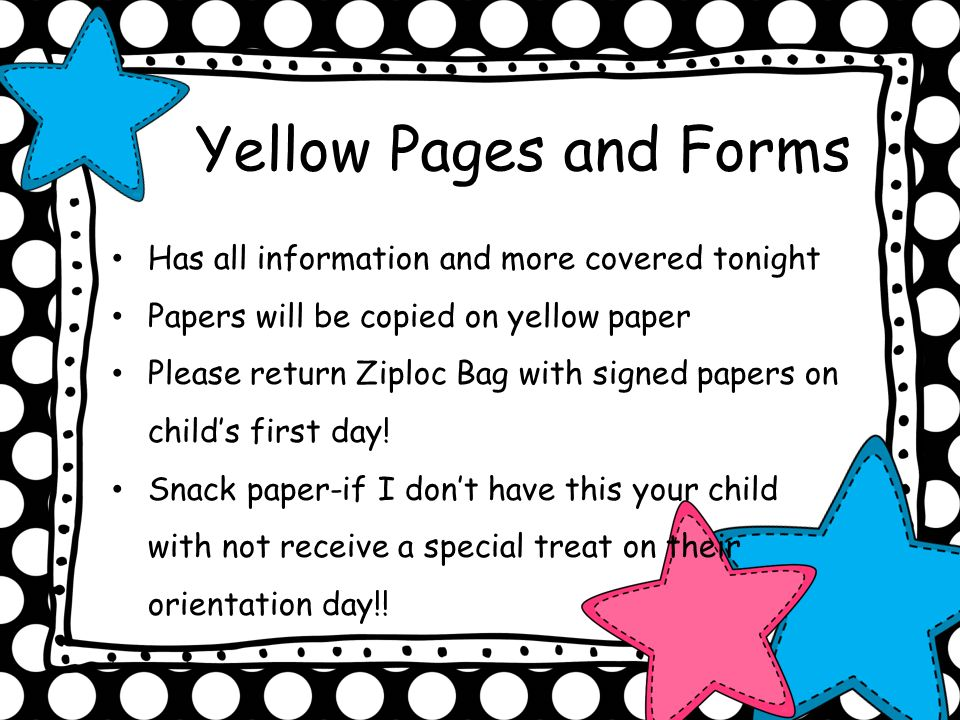 Yellow Pages and Forms Has all information and more covered tonight
