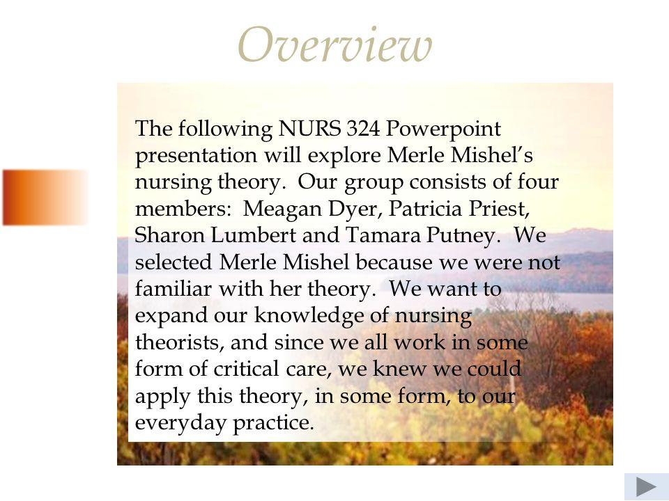 nursing theories ppt presentation