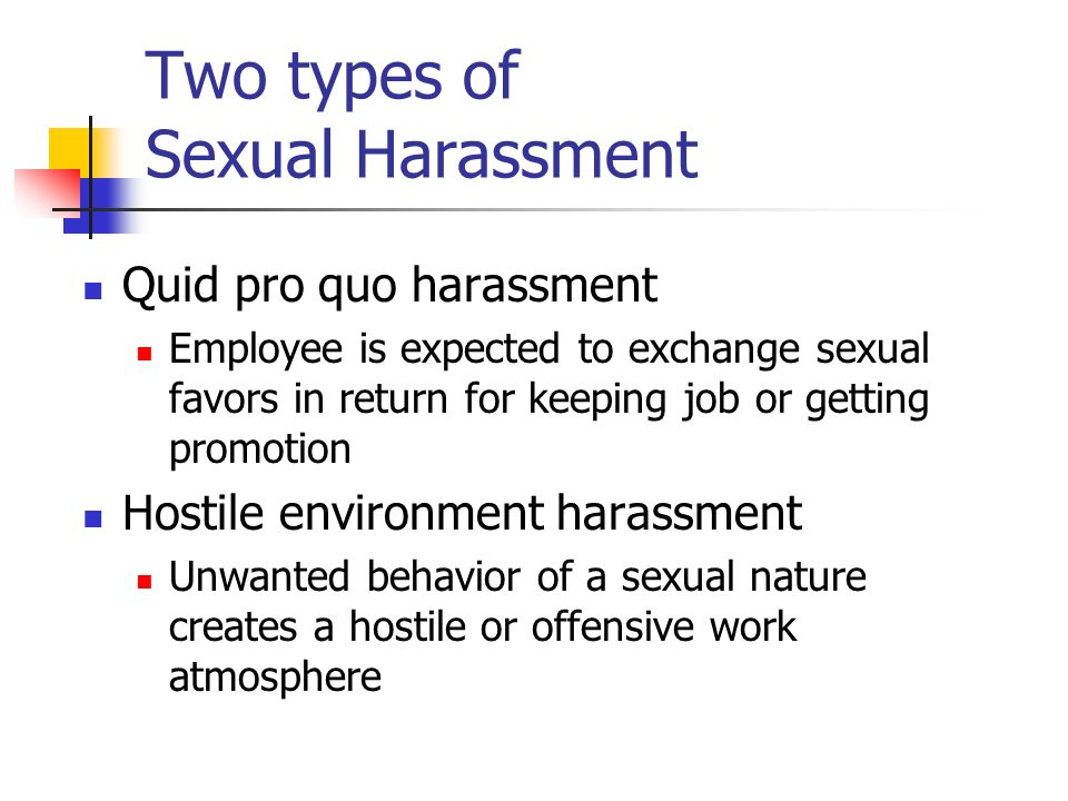 Two types of sexual harassment images 51