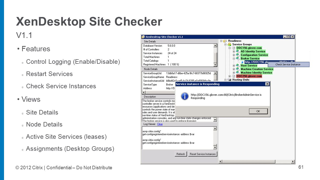 SUM303: XenDesktop Advanced Troubleshooting - ppt download
