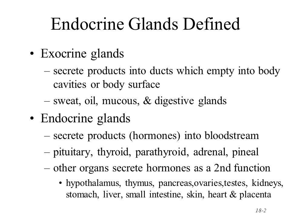 The Endocrine System General Functions Of Hormones Ppt Video