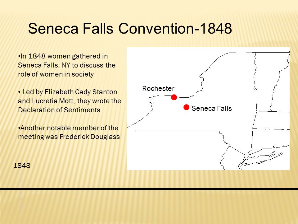 Seneca Falls Convention-1848