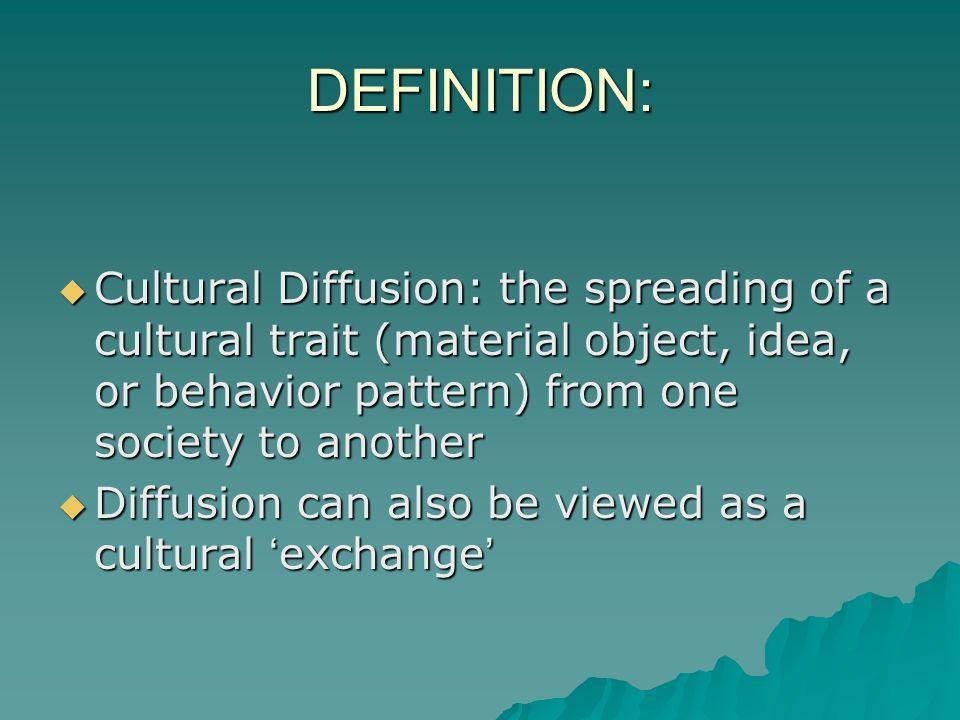 significance of cultural diffusion