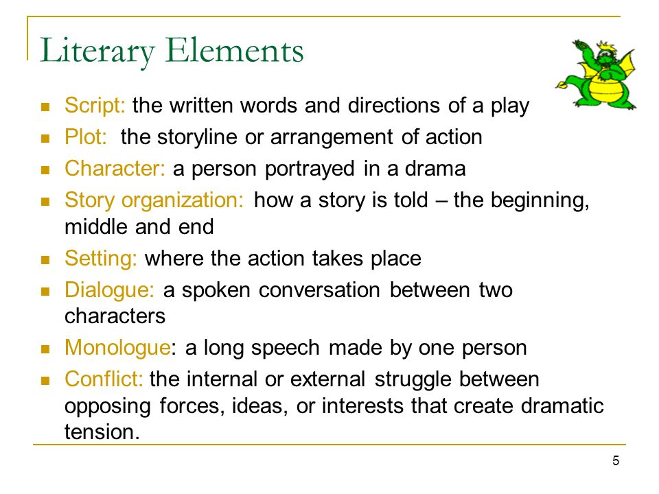 Eti 309 Elements Of Drama Literary Technical Performance Ppt