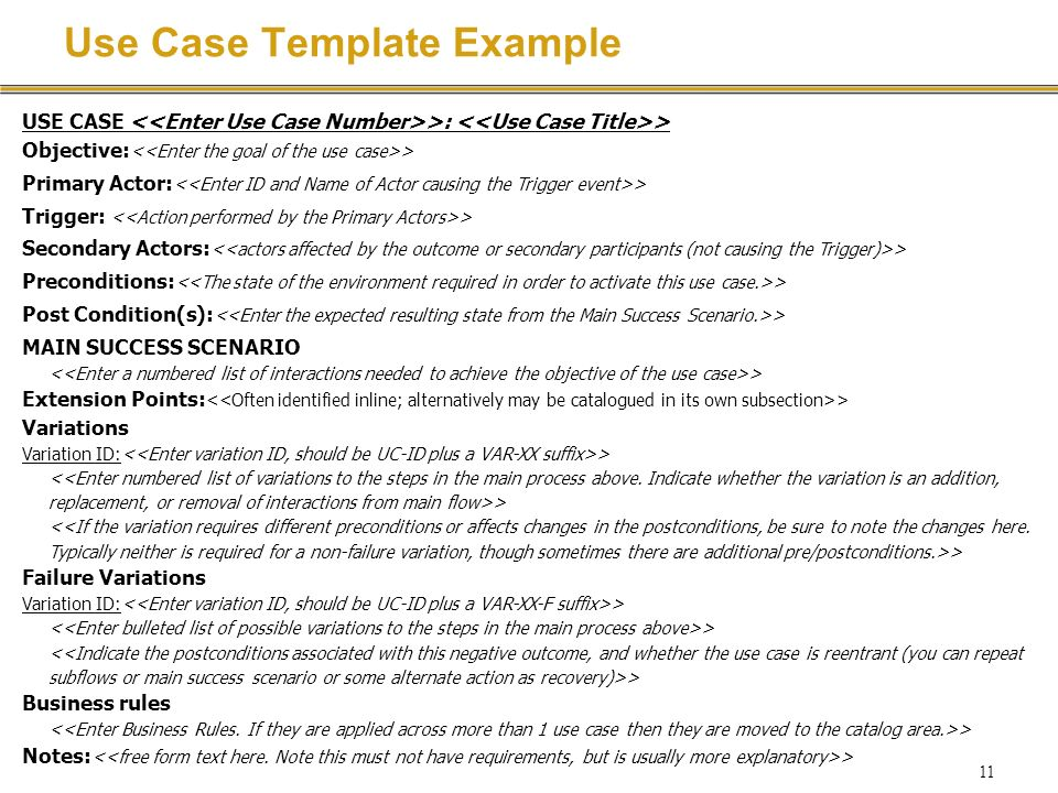 Requirements specification with use cases ppt download use case template example maxwellsz