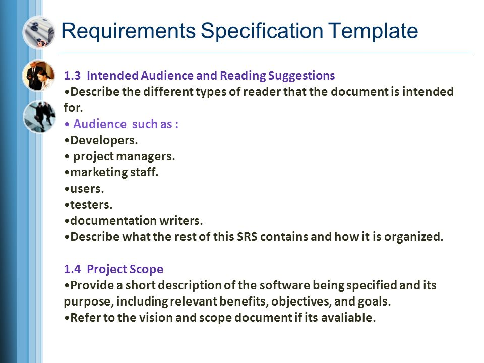 Chapter Documenting The Requirements Ppt Video Online Download - Marketing requirements document template