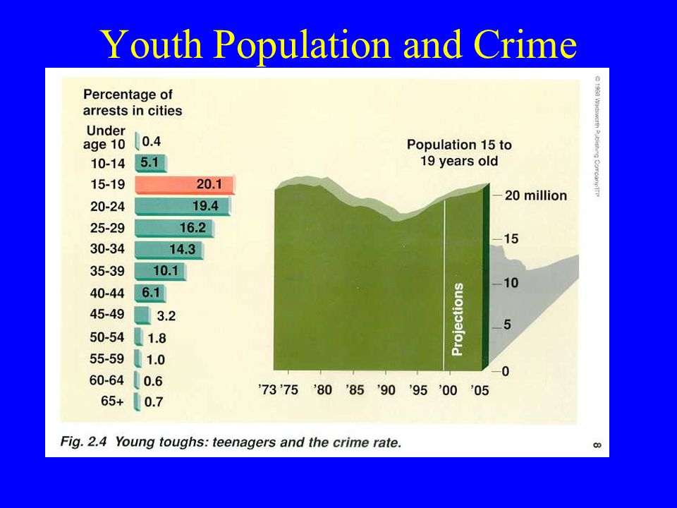 Youth Population and Crime