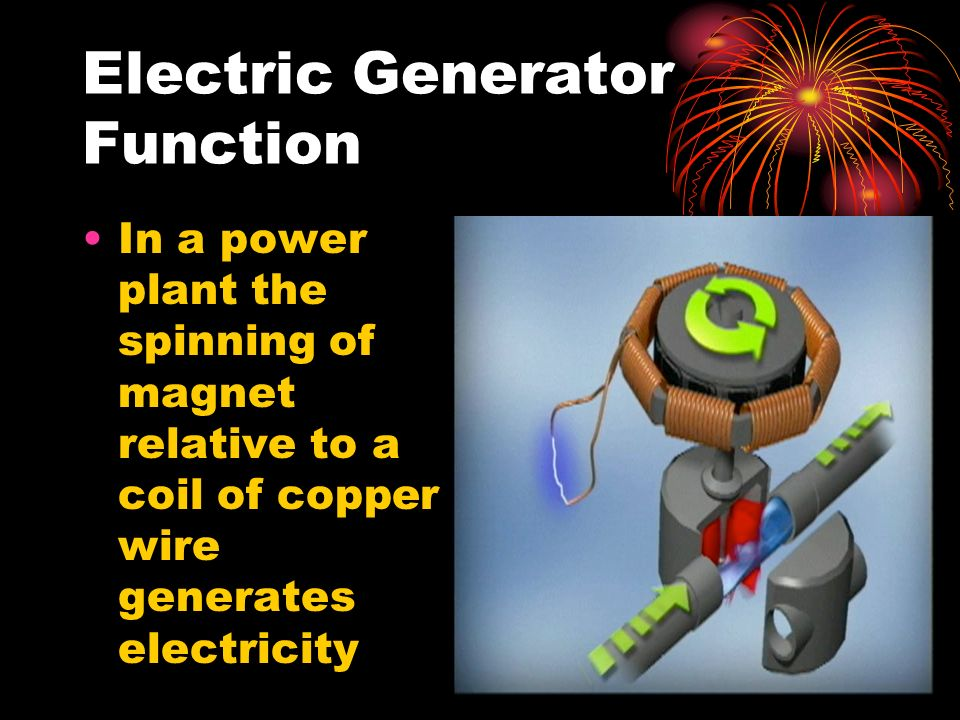 Electric Generator Function