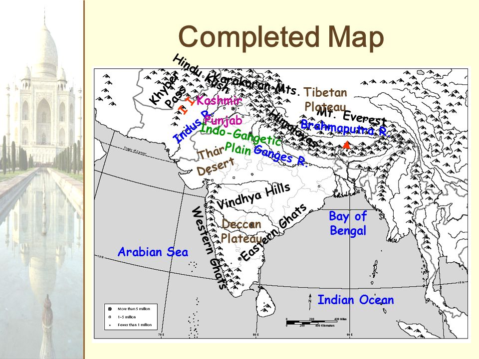 The Indian subcontinent. - ppt video online download