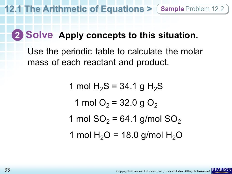 how to solve mole concept problems