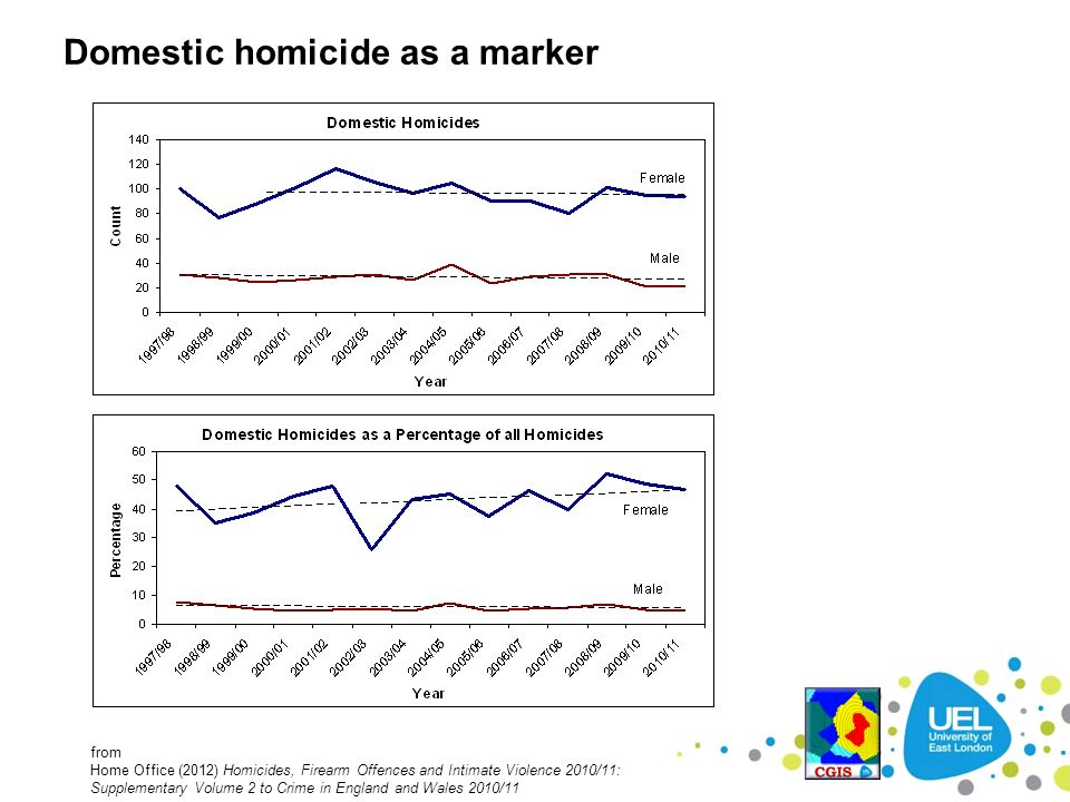 Domestic homicide as a marker