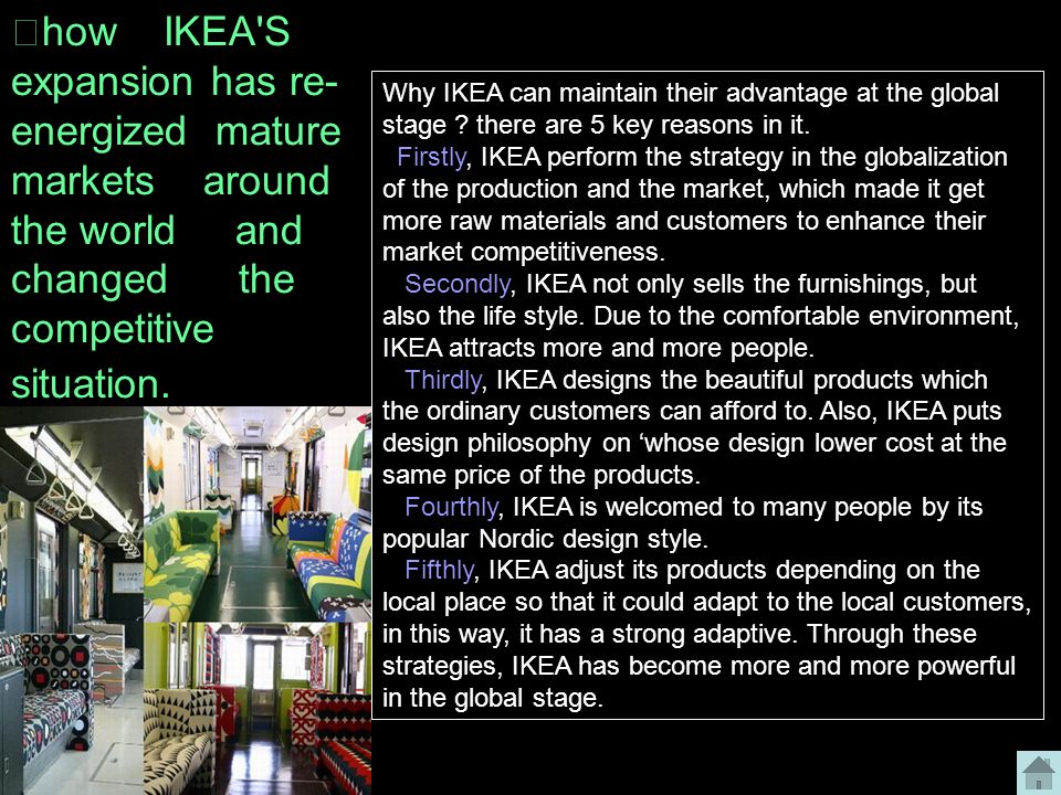 ikea expansion strategy