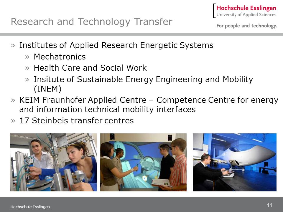 Research and Technology Transfer