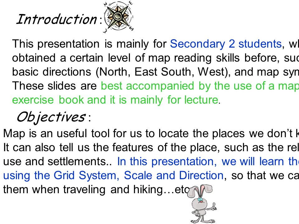 Subject Geography Topic Where Are We Basic Map Reading Skills