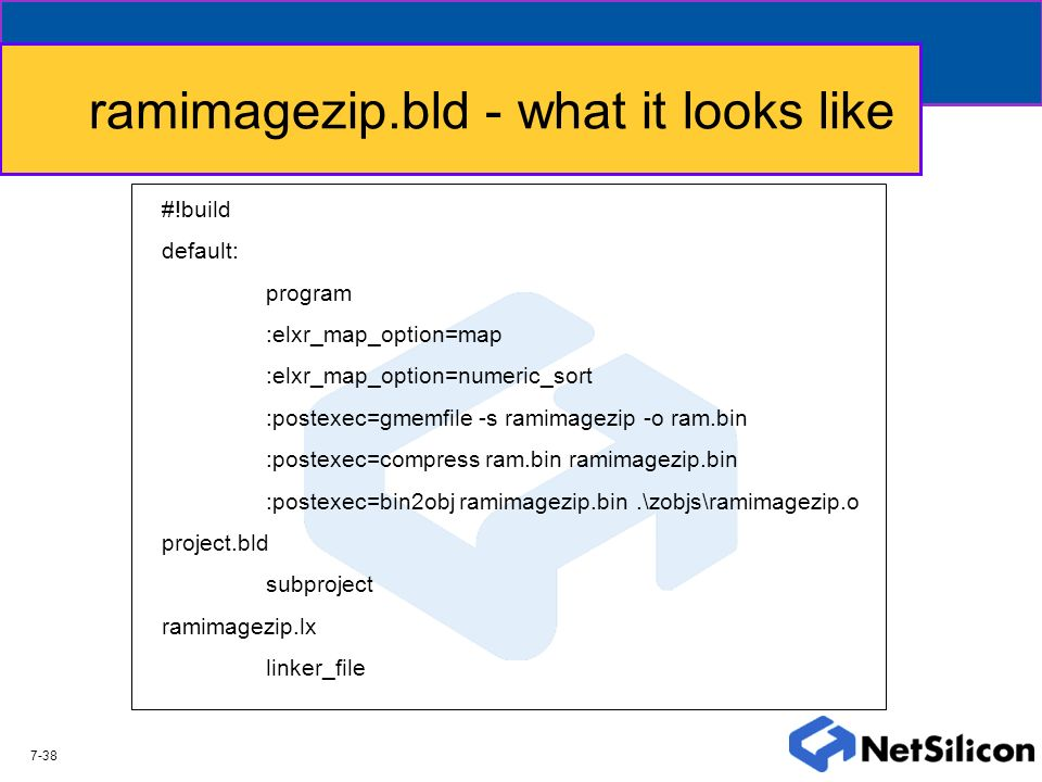 ramimagezip.bld - what it looks like