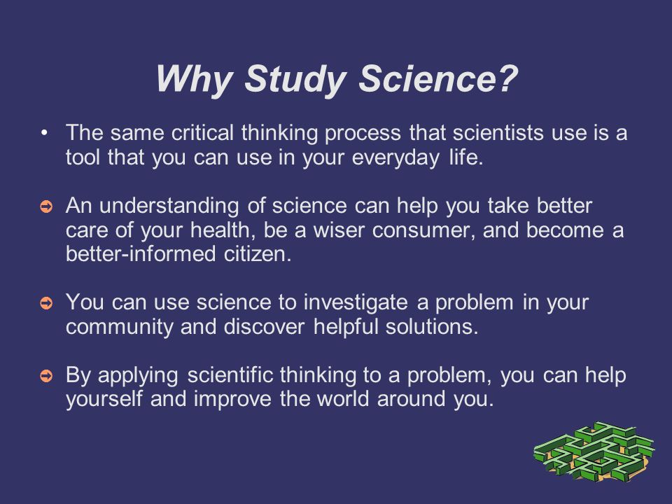 how does science play a role in your everyday life