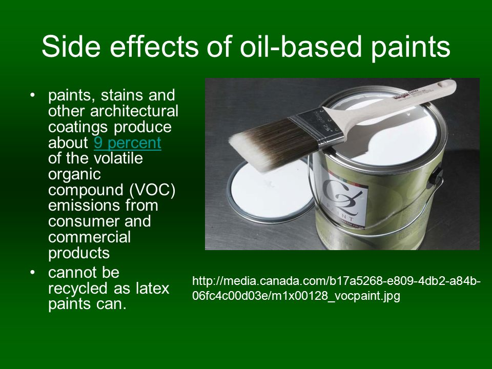 Oil Based Paints Aka Alkyd Ppt