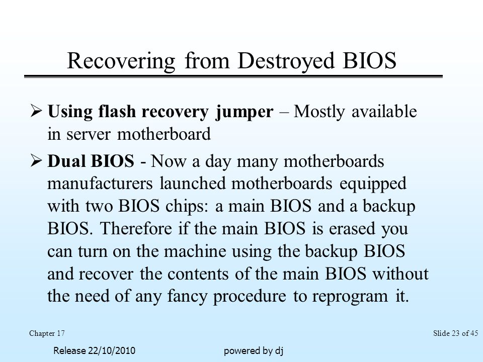 Working with the BIOS / CMOS - ppt video online download