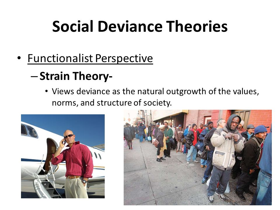 Social Deviance Theories