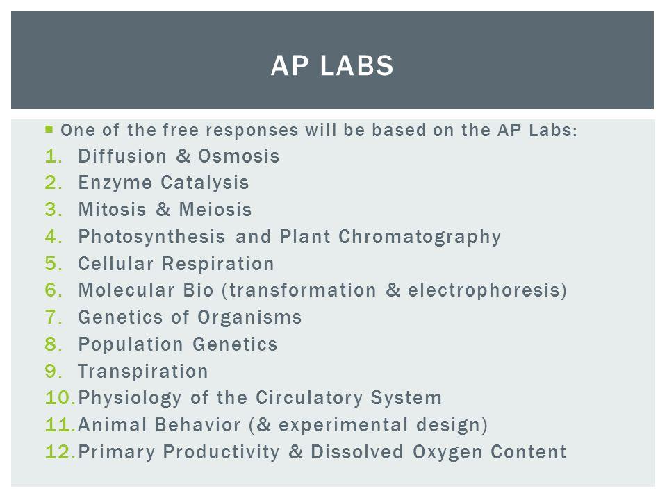 AP Biology Test Part 4 AP Lab Review Ppt Video Online