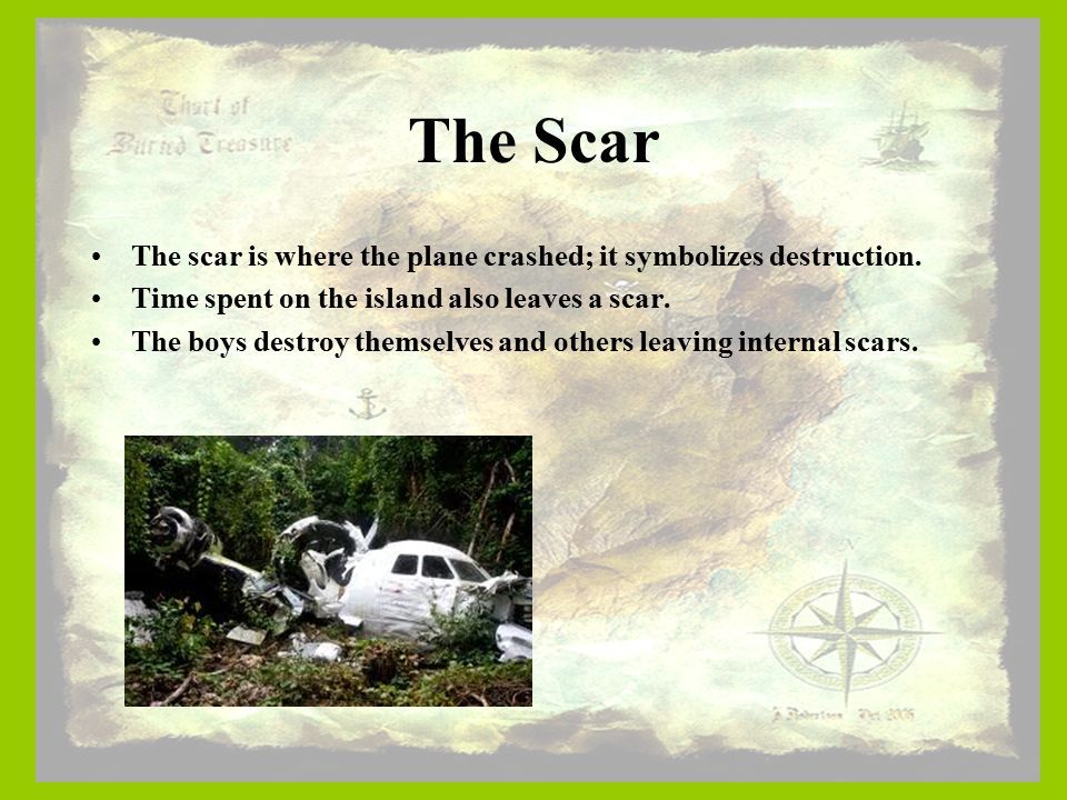 lord of the flies plane crash