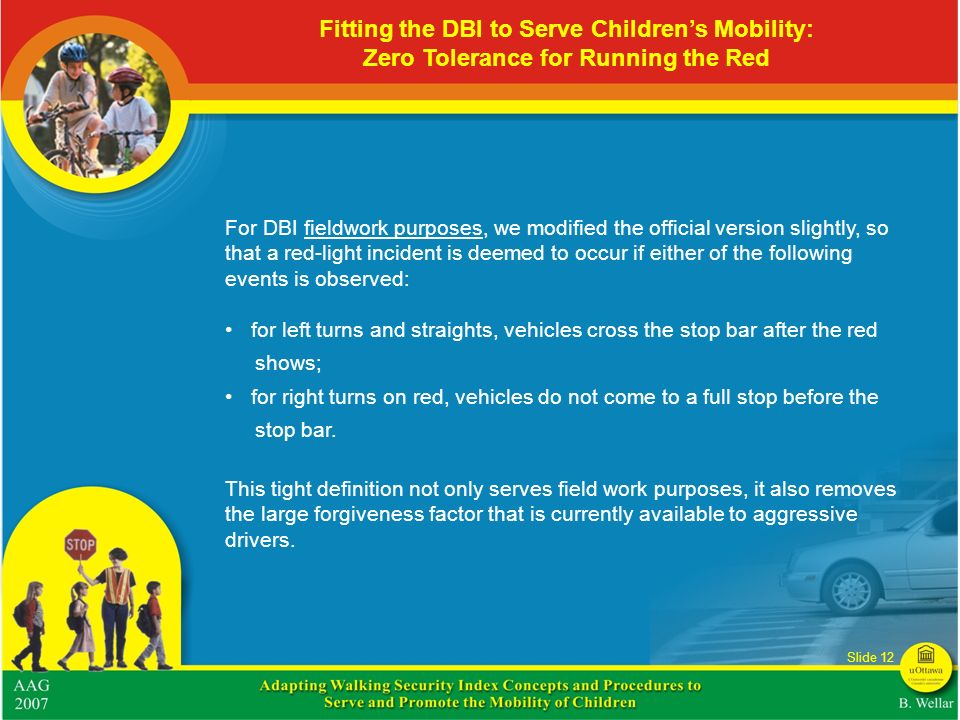 Fitting the DBI to Serve Children's Mobility: