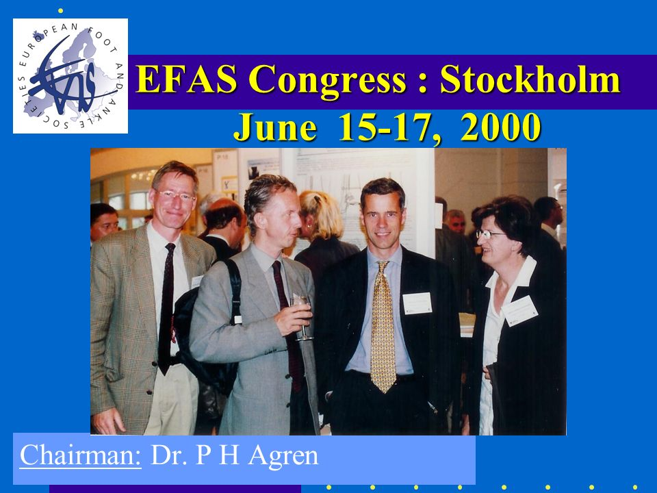 EFAS Congress : Stockholm June 15-17, 2000