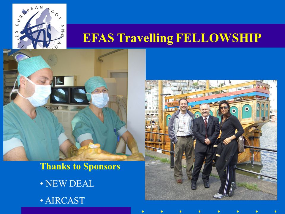 EFAS Travelling FELLOWSHIP