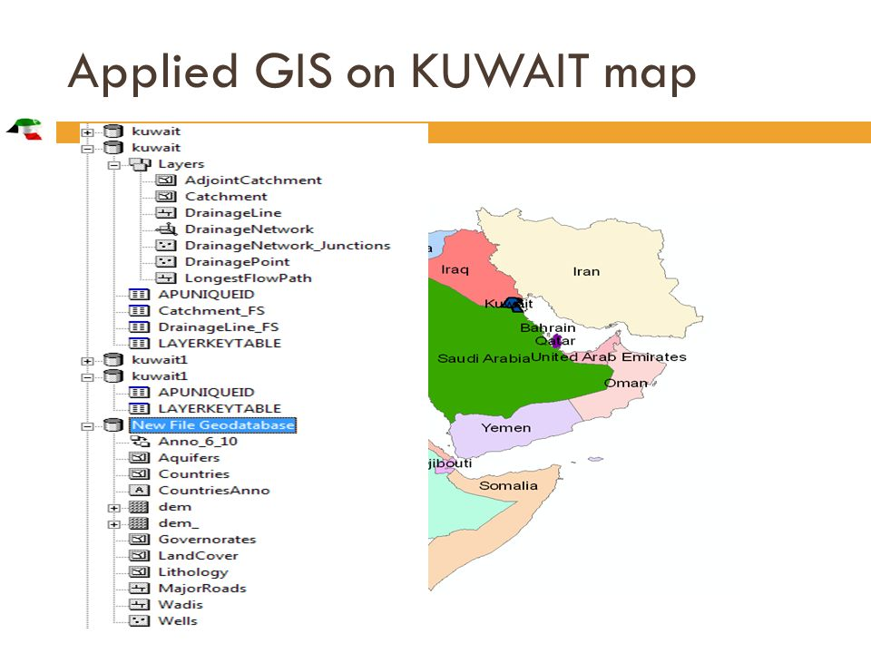 Applied GIS On Kuwait's water - ppt download on map of the gambia, map of malaysia, map of norway, map of angola, map of africa, map of swaziland, map of tunisia, map of middle east, map of bahamas, map of ethiopia, map of morocco, map of somaliland, map of afghanistan, map of sudan, map of nepal, map of niger, map of yemen, map of kenya, map of burundi, map of tanzania,