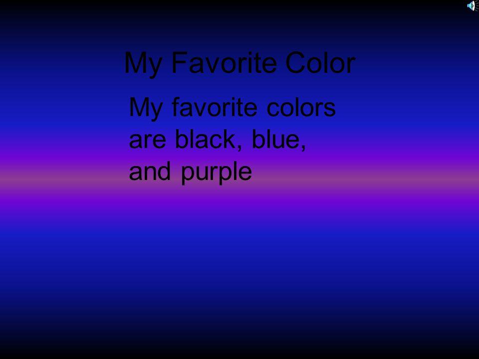 favourite colour blue essay