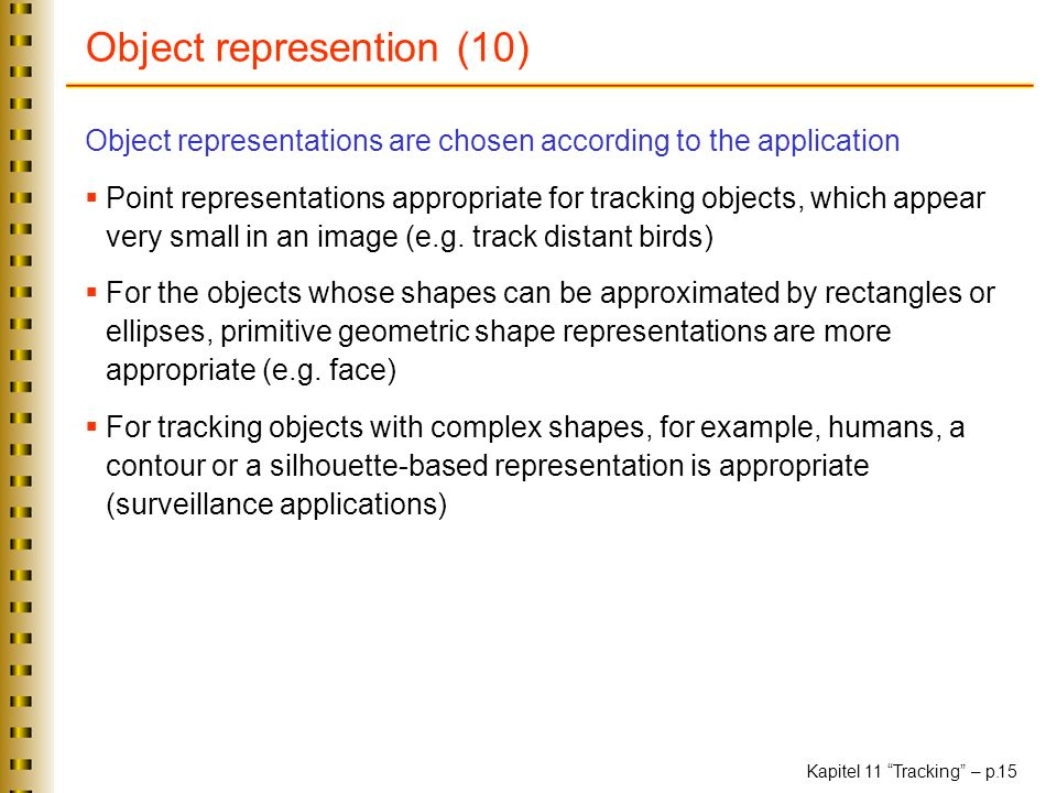 Object represention (10)