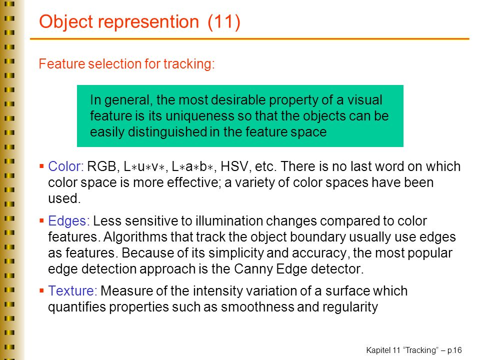 Object represention (11)