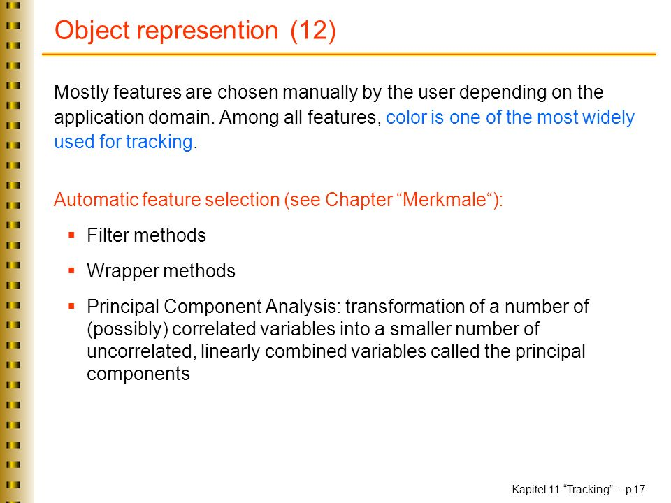 Object represention (12)