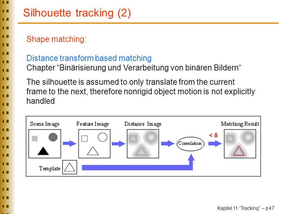 Silhouette tracking (2)
