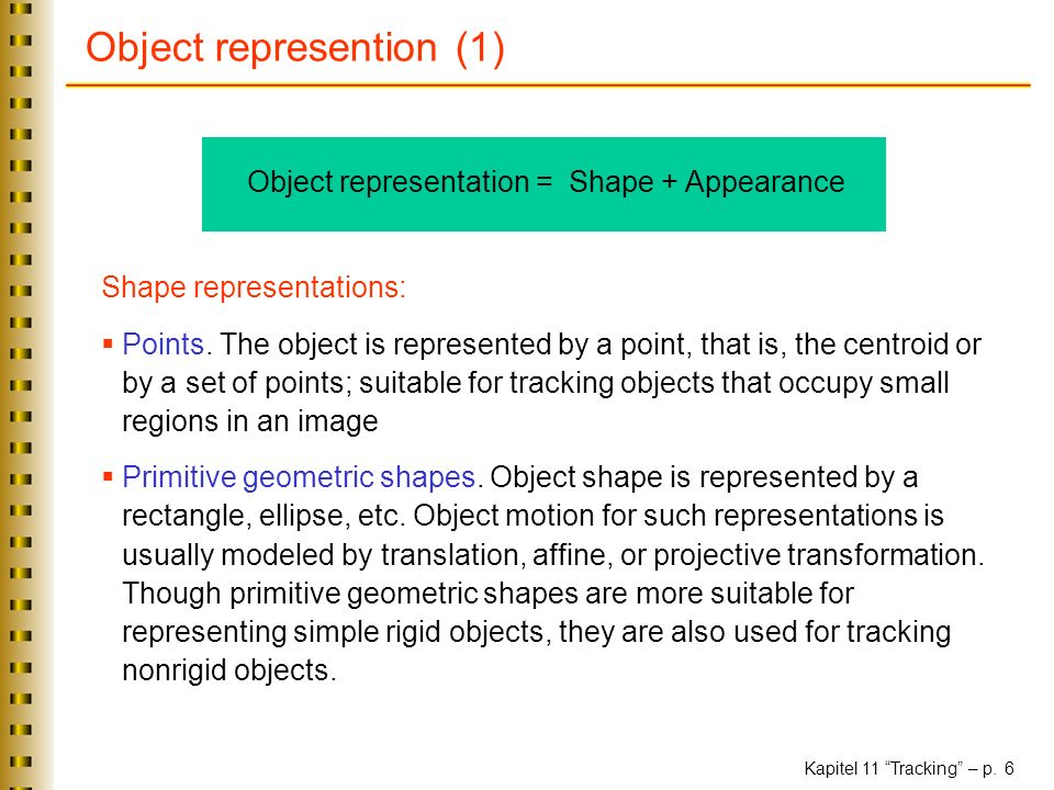 Object represention (1)