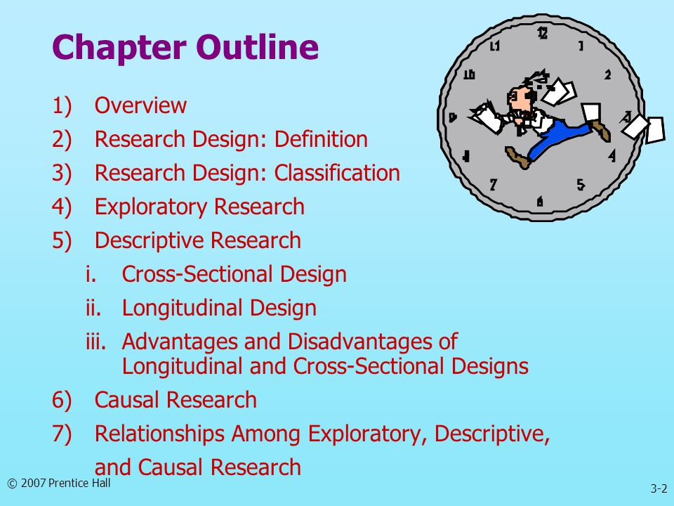 Chapter Outline 1) Overview 2) Research Design: Definition