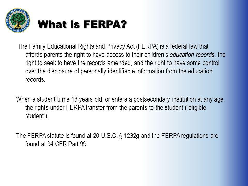 Image result for FERPA after 18