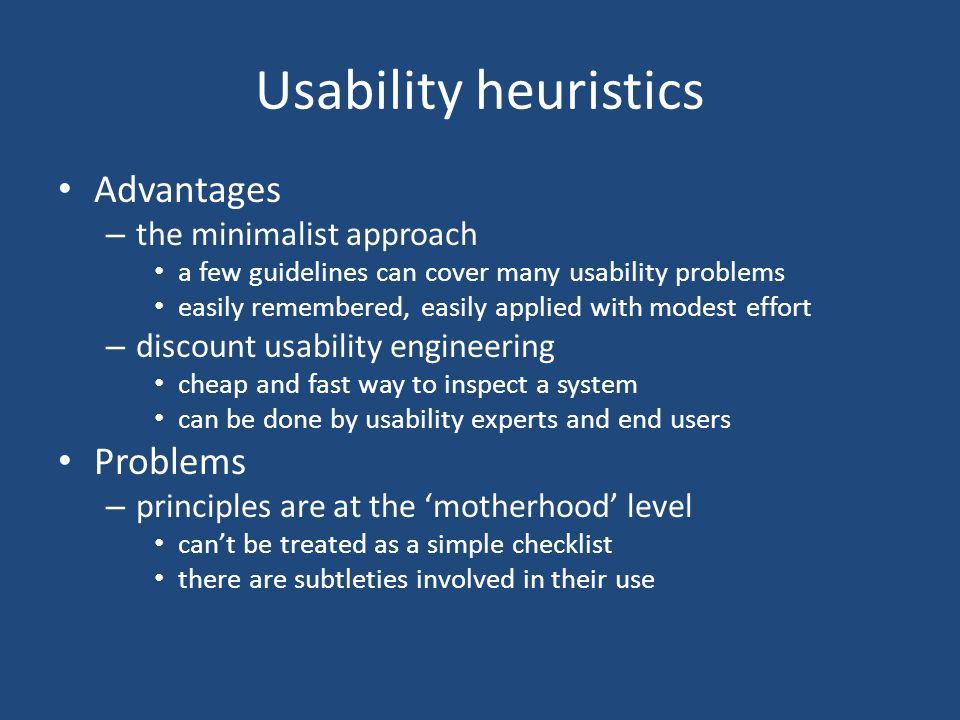 Usability Heuristics CMPT ppt video online download