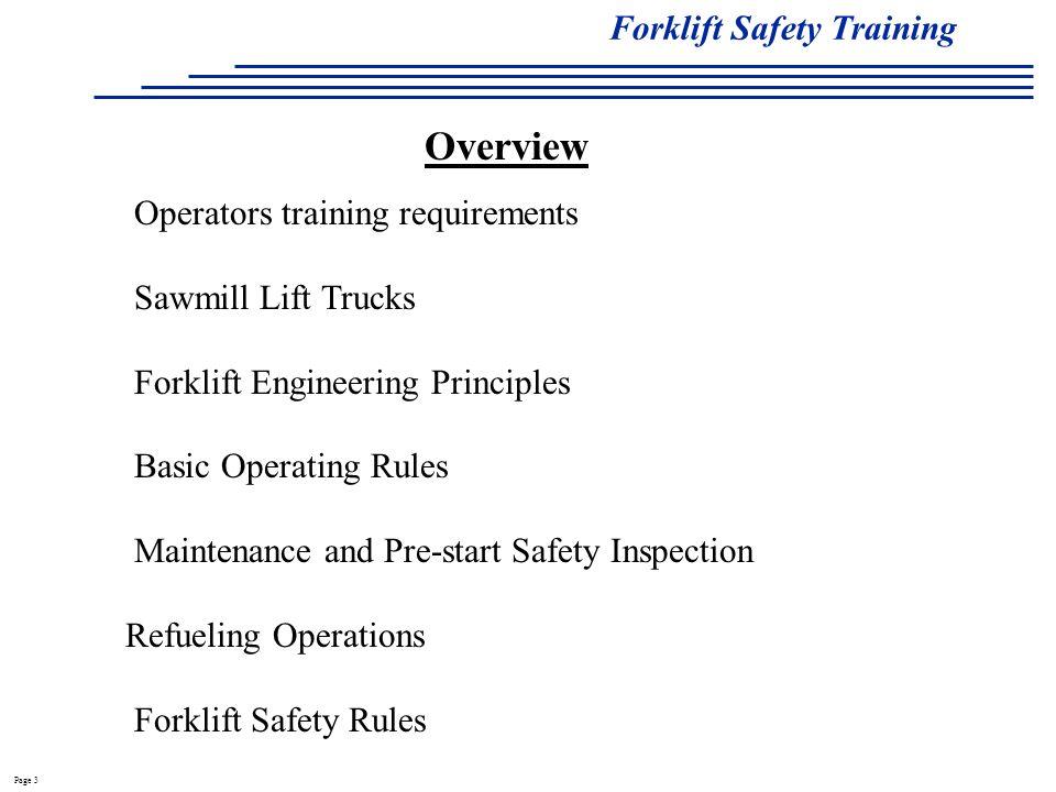 Forklift Safety Training Ppt Video Online Download